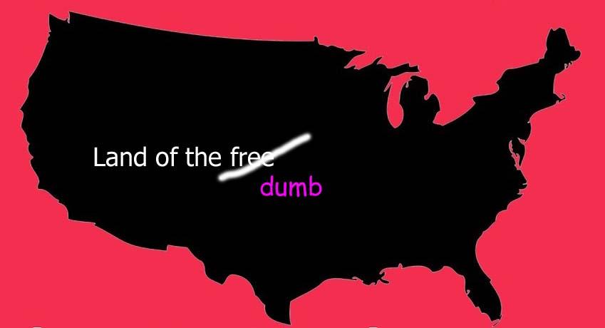 Domme Amerikanen?