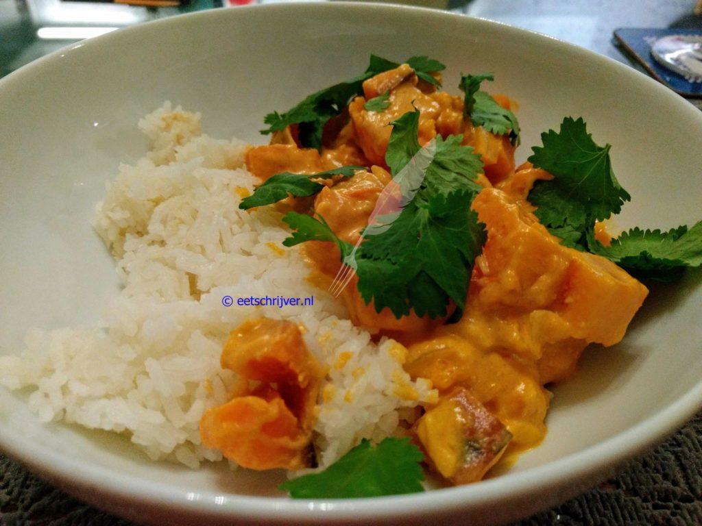 Net niet vegan curry (of wel)